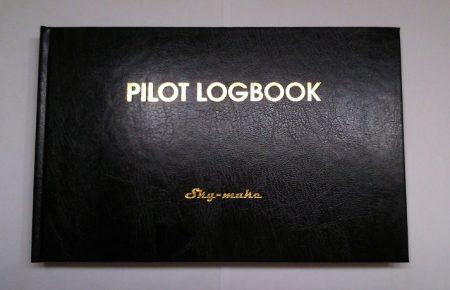 PILOT LOGBOOK XL  English
