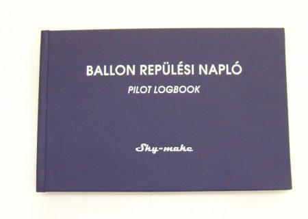 Ballon Pilot  Logbook Hungarian, English