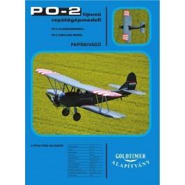PO-2  papírmaket
