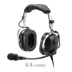 Passive helicopter headphones GA FLAY HP - 100 flexible microphone boom