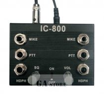 Intercom IC 800,  2 x PTT