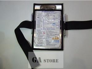 Kneeboard fabric case - Sky-make
