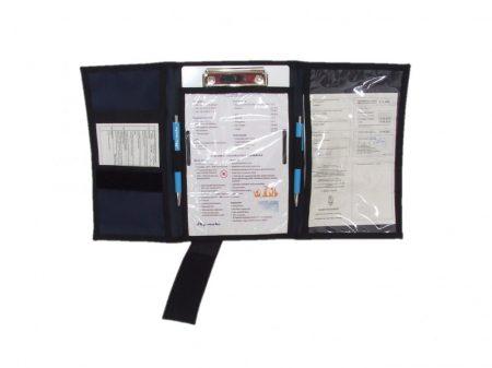 Kneeboard fabric case, 3 sheets - Sky-make