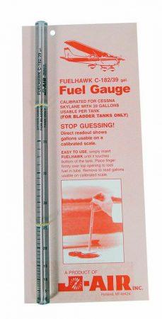Cessna 182 Fuel Gauge (Standard 43,5 Gal. Tanks)