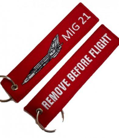 RBF kulcstartó MIG 21