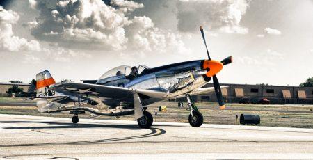 "Poszter B/1 ""P - 51D MUSTANG  """