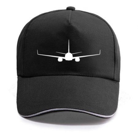 Baseball Hat Boeing 737-800 Plane