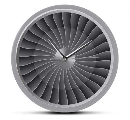 "Wall clock ""JET engine"""