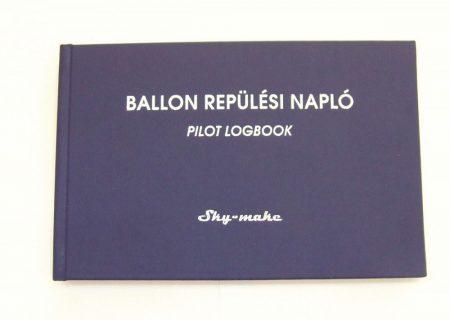 Ballon  Repülési napló Magyar-Angol nyelv