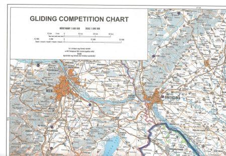 GU Gliding chart 1:500 000