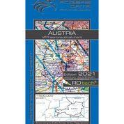 Austria VFR Aeronautical Chart – ICAO Chart