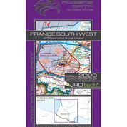France South West VFR Aeronautical Chart – ICAO 1:500 000
