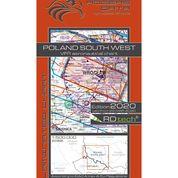 Poland South West VFR Aeronautical Chart – ICAO 1:500 000