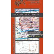 Poland South East VFR Aeronautical Chart – ICAO 1:500 000