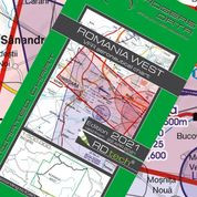 Romania West VFR ICAO Chart – ICAO 1:500 000