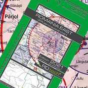 Romania East VFR ICAO Chart – ICAO 1:500 000
