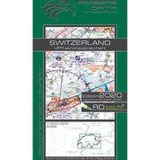 Switzerland VFR Aeronautical Chart – ICAO 1:500 000