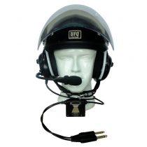 Aktív zajszűrös repülési fejhallgatós sisak