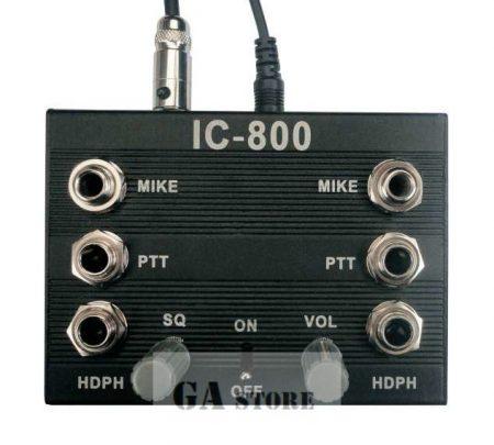 Intercom IC 800 + 2 x PTT