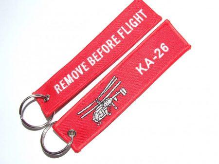 """RBF kulcstartó """"KA - 26"""""""