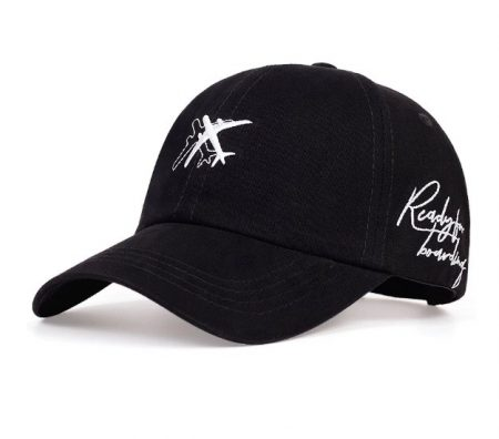 Baseball cap embroidered