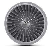 "Wall clock ""JET engine"""