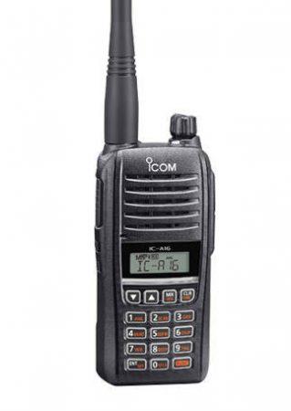 Icom IC-A16E Handheld Airband Radio 8,33 KHZ (Bluetooth )