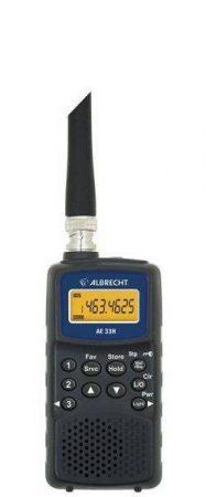 Albrecht AE 33 H Handheld Scanner Radio